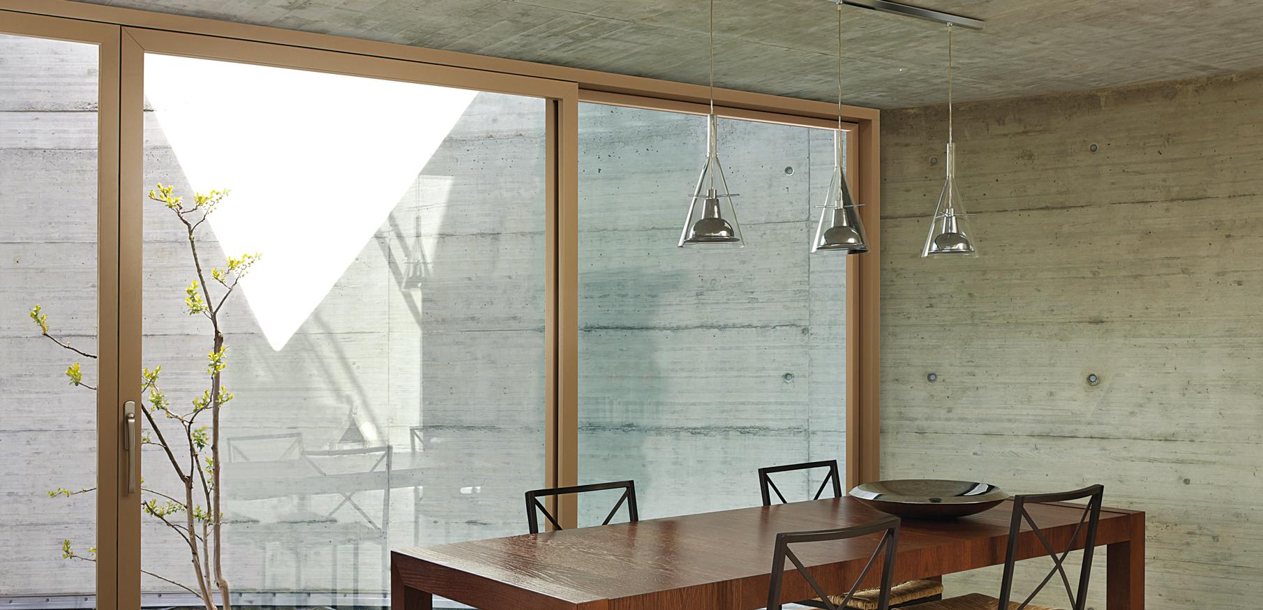 Finestre design legno alluminio e infissi legno vetro - Finestre di legno ...