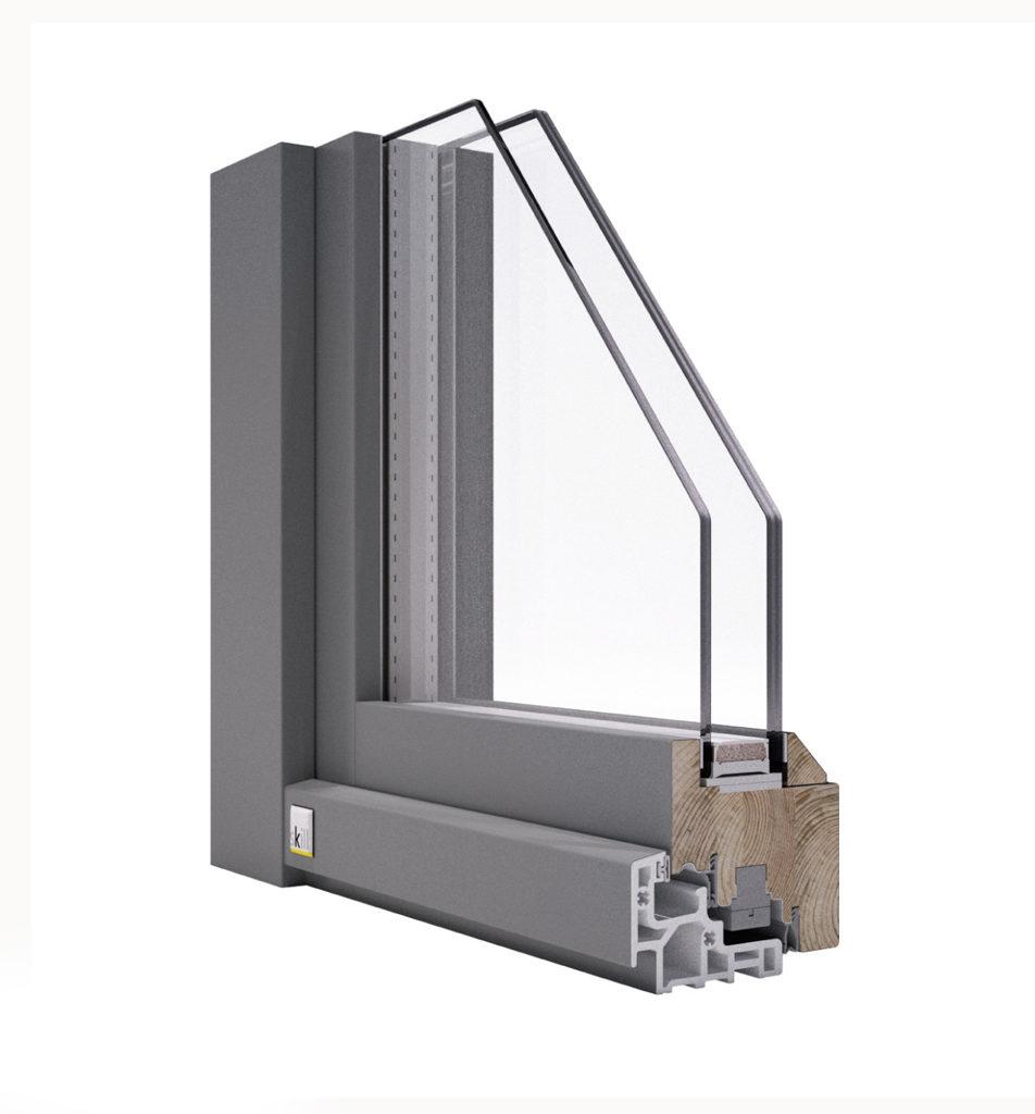 Infissi economici legno alluminio con zero manutenzione - Sostituzione finestre milano ...