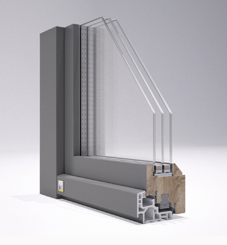 Finestre ecosostenibili legno alluminio addio per sempre alla manutenzione - Manutenzione finestre in legno ...