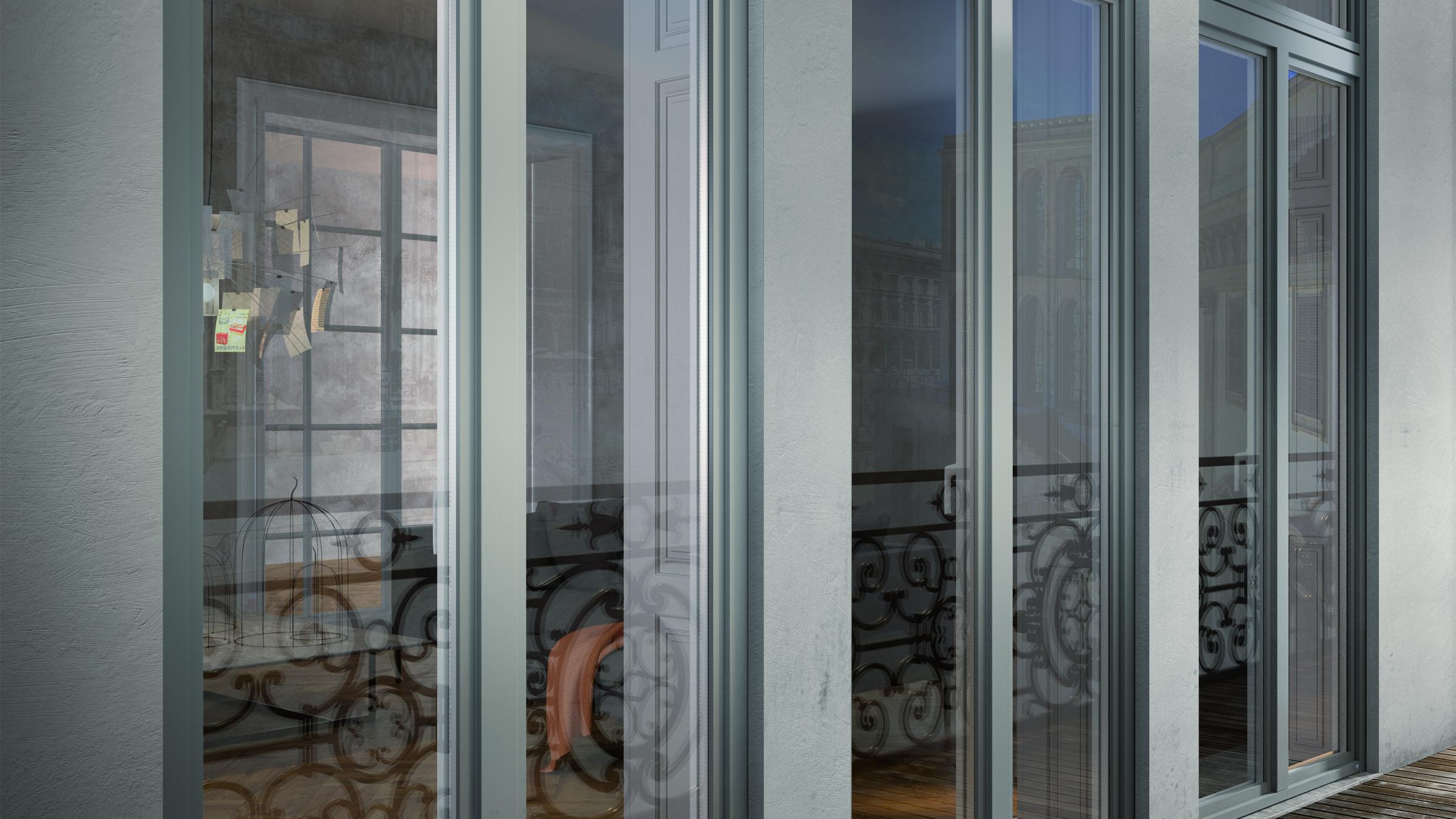Finestre ecosostenibili legno alluminio skill - Finestre pvc economiche ...