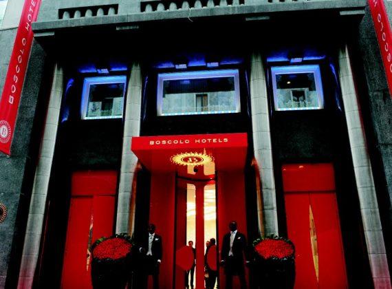 Sciuker Frames for Luxury Hotel Exedra Boscolo Hotel