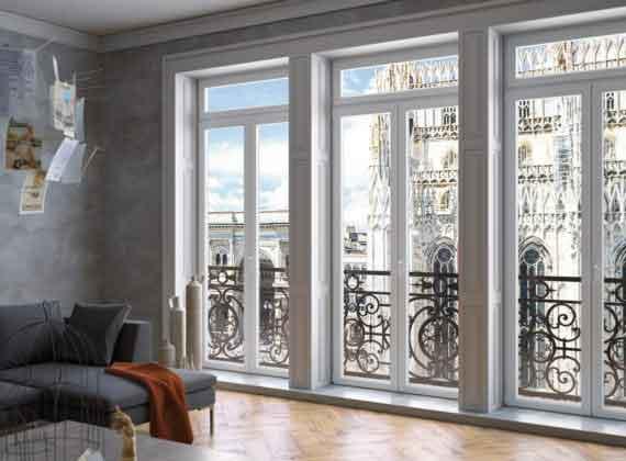 Le Finestre Milano. Capitale dell'economia, del commercio e dell'industria scopri i rivenditori di finestre in legno alluminio Sciuker