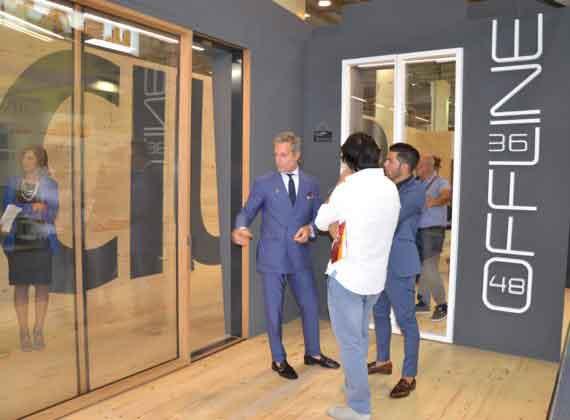 Sciuker presenta Offline alla Fiera del Levante di Bari 2017