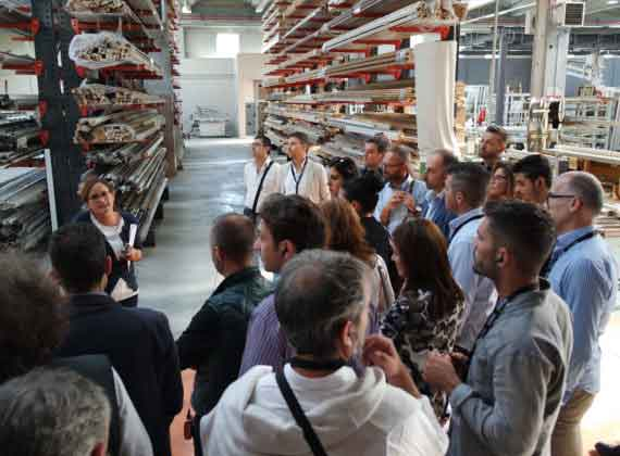 Sciuker Frames Experience: incontro con i rivenditori di Lazio e Toscana