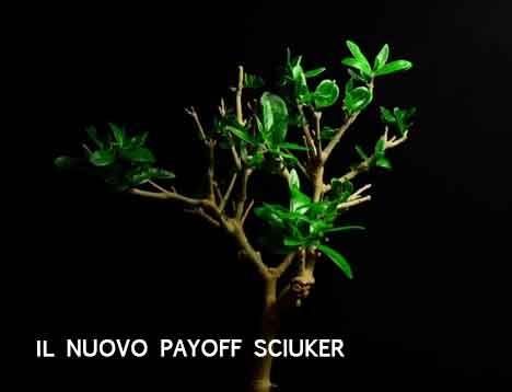 L'anima e l'essenza Sciuker racchiuse nel nuovo payoff