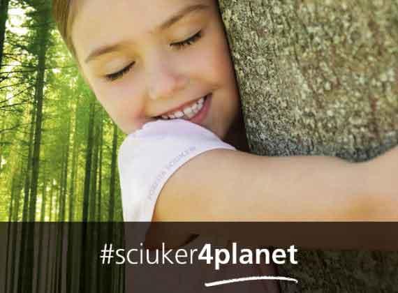 #Sciuker4Planet dà più ossigeno al Pianeta