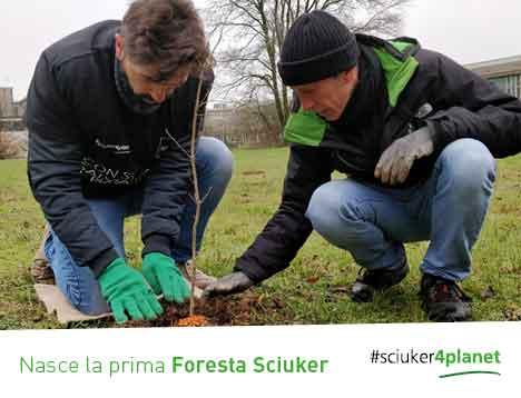 Il progetto #Sciuker4Planet mette le radici.