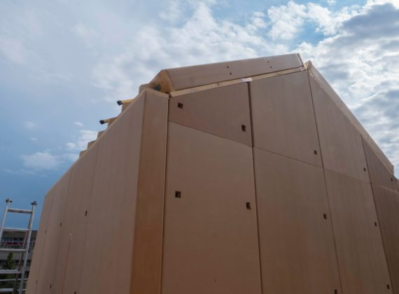 Le finestre Skill per la prima casa in cartone modulare ondulato